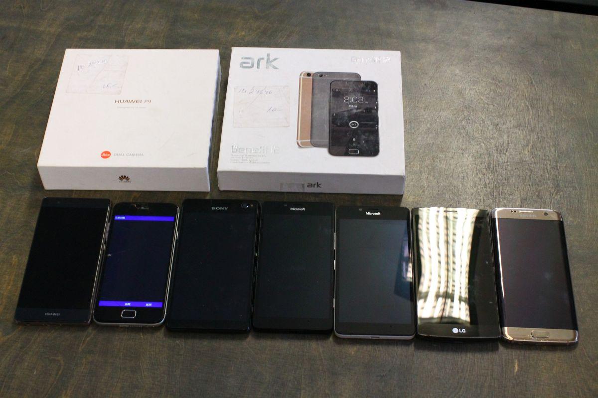 fb520da507a Asjad_02. 10 Mobiiltelefonid 7tk. Kasutatud vigastustega mobiiltelefonid ...